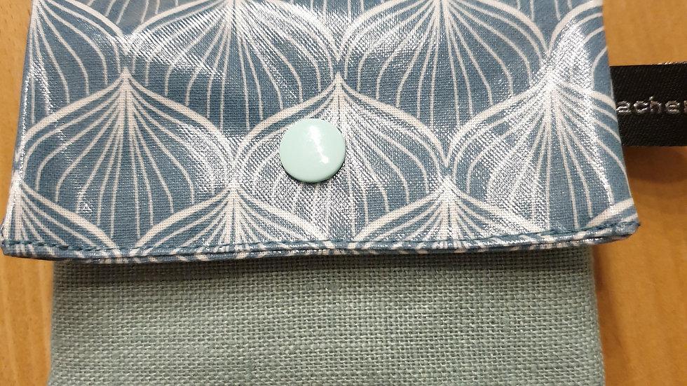 kleines Portemonnaie Alli Antique Green