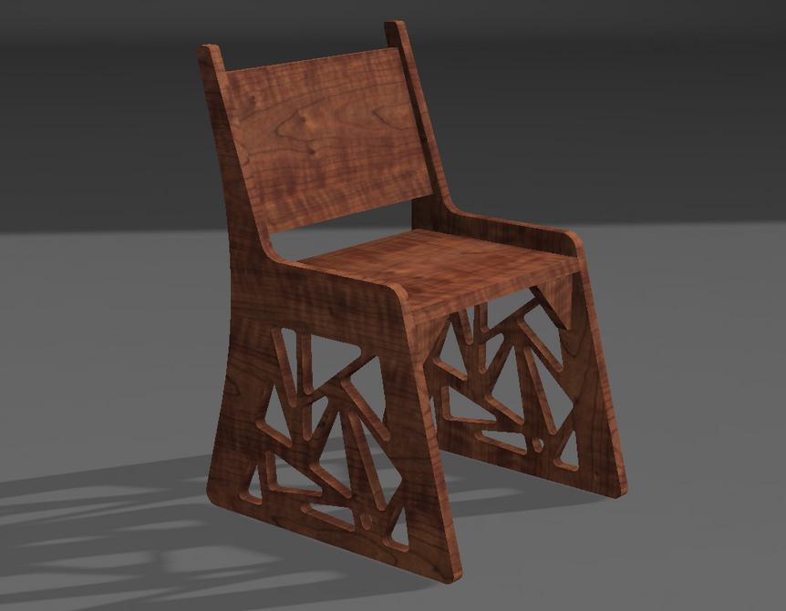 Curtain chair #2