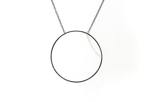 Silver Pendant Circle