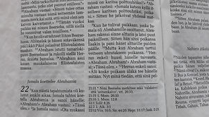 Sleyn raamattukoulutustyö - mitä materiaalia on tarjolla?