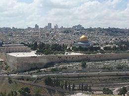 Jerusalem näkyy