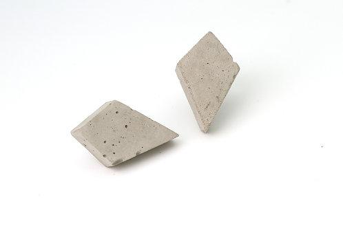 Concrete Silver Studs Kite