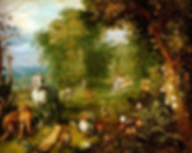 Adam in Paradise Jan Brueghel the Younge