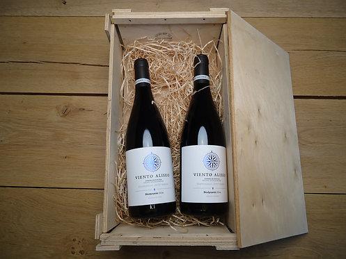 Wijnkistje: 2 flessen Viento Alieso / La Mancha