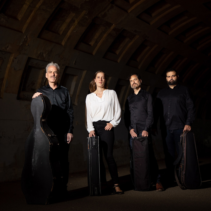 "Circadian String Quartet presents ""Images: Debussy's Preludes"""