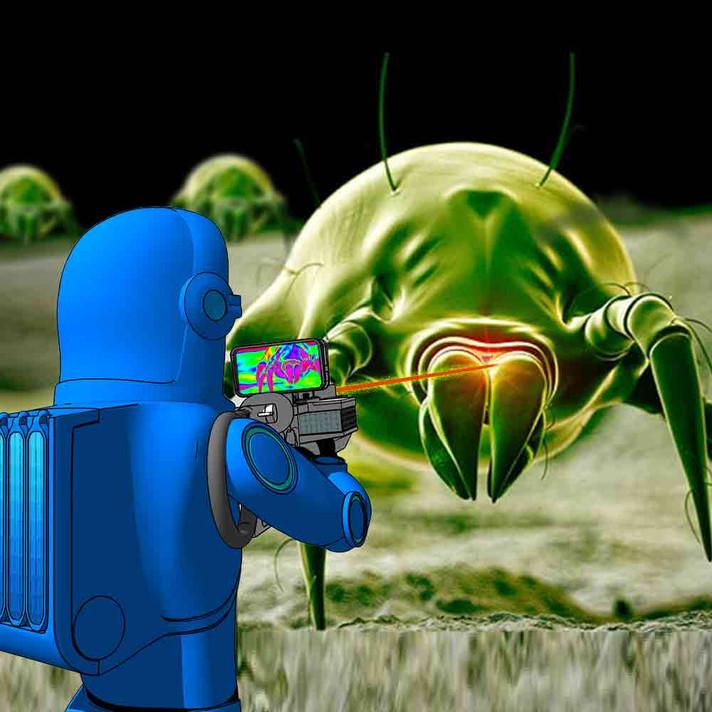 Munching Bedbugs-Fresh Quest Comic