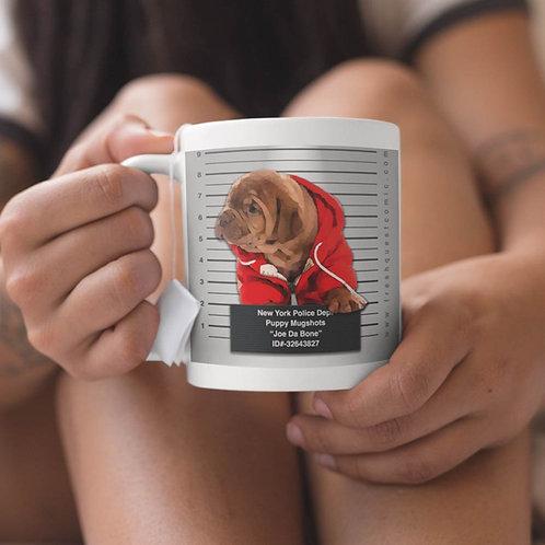 Puppy Mug-Shot: New York City