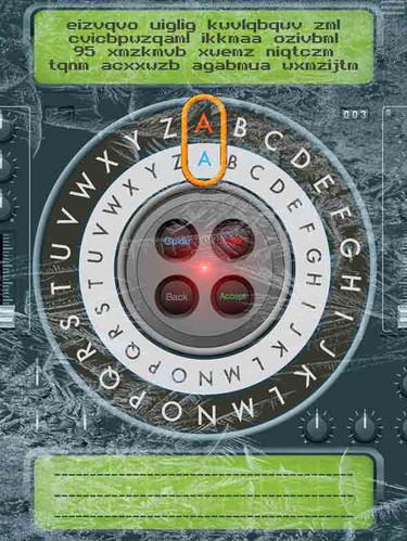 सीज़र सिफर डिकोडर E5-ताजा क्वेस्ट कॉमिक