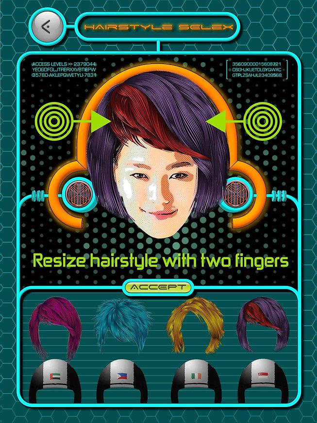Hairstyle Adjustment
