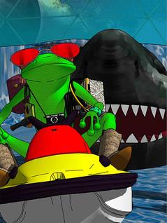 Vụ cá mập tấn công ở New Bondi ở New New South Wales