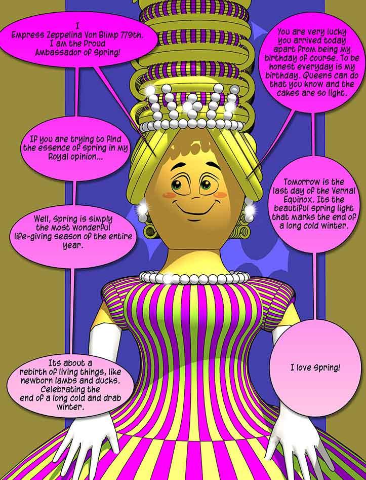 The Empress-Fresh Quest Comic
