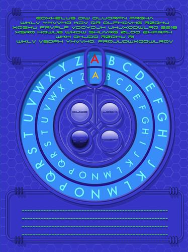सीज़र सिफर डिकोडर E2-ताजा क्वेस्ट Comic.jpg