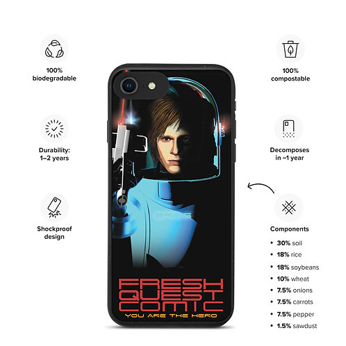 Biodegradable iPhone Case-Commander