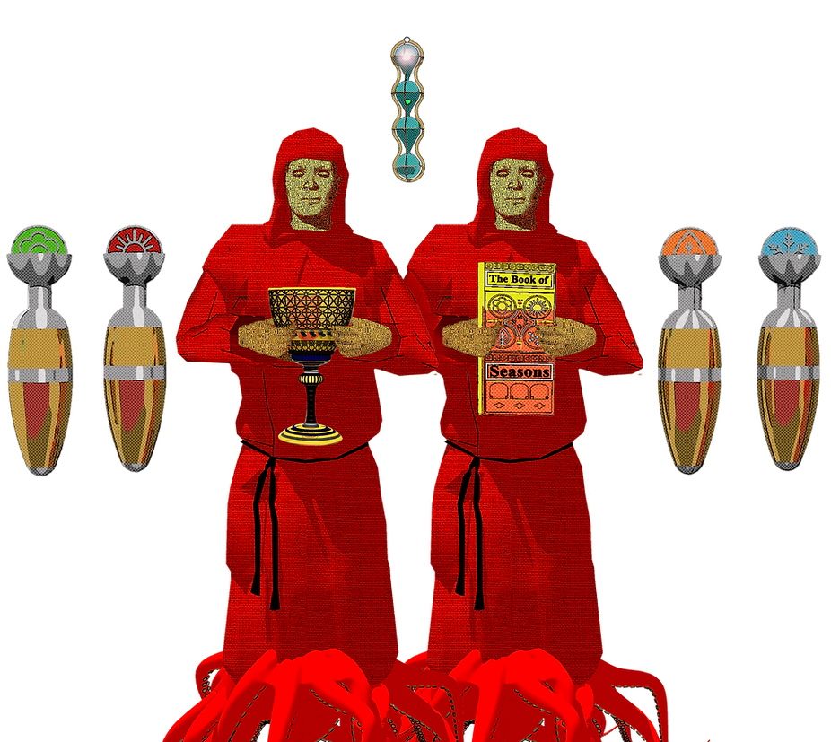 The red Monks of Meta-4