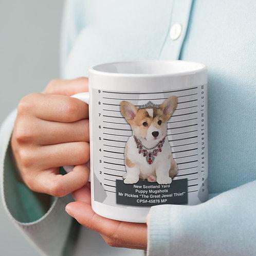 Puppy Mug-shots: London