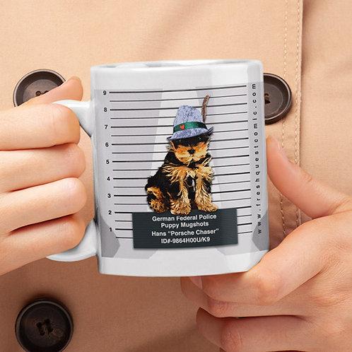 Puppy Mugshot: Germany