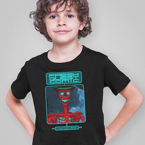 Youth Short Sleeve T-Shirt-Skull