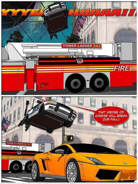 New NYC Firetruck