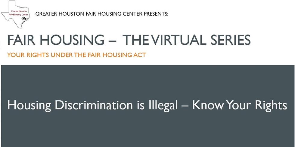 Fair Housing - The Virtual Series: Intro