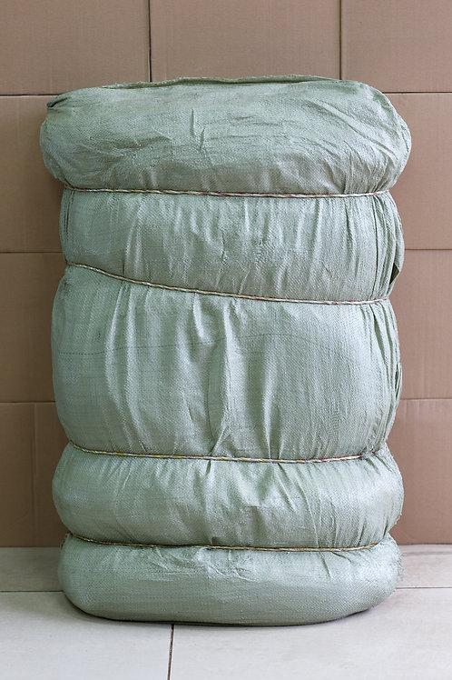 Мешки полипропиленовые. Цвет зеленый. Размер 55*95см.