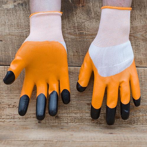 Перчатки нейлоновые с нитриловым покрытием Ноготки.
