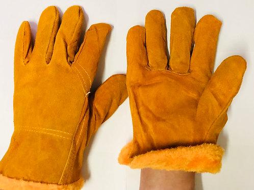 Перчатки цельноспилковые утепленные «Драйвер»плюш