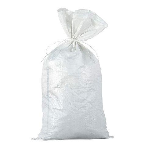 Мешки полипропиленовые. Цвет белый. Размер 55*95см.