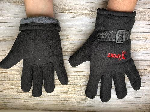 Флисовые перчатки.