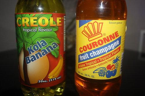 Kola Banana & Fuit champagne