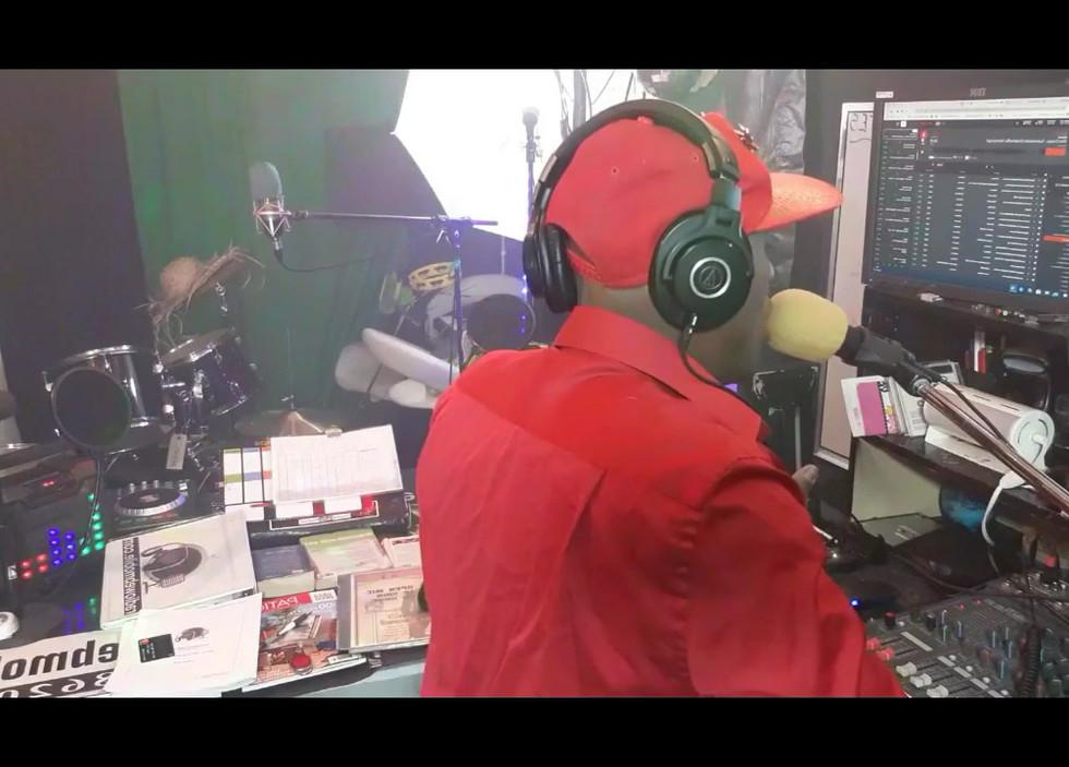 Au studio de la radioweb 2020