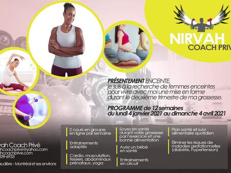 Entrainement NIRVA 2021