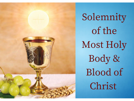 The Body and Blood of the New Covenant
