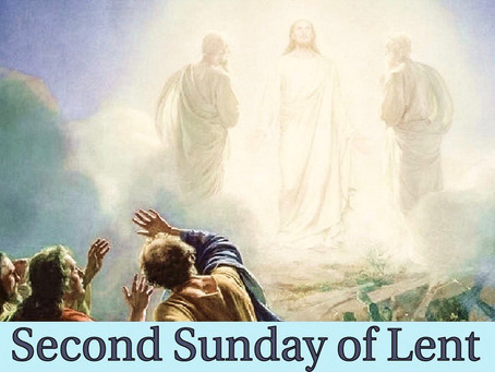 A Reflection on the Transfiguration of our Lord