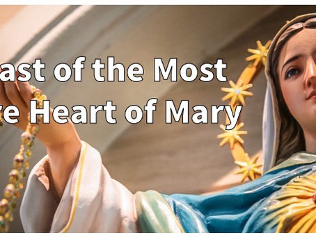 A Reflection on the Most Pure Heart of Mary