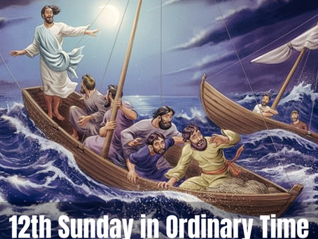 Turning towards Jesus: Calming the Storm