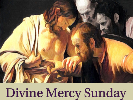 DIVINE MERCY SUNDAY: A reflection on Jn 20:19-31