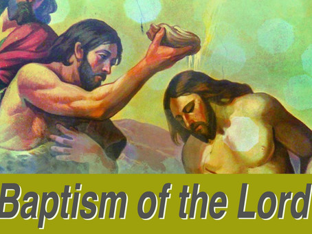 The Gift of Baptism - A Reflection on Mk 3:13-17