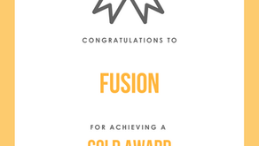 Gold Award for Fusion in Accreditation Scheme