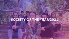 We're Society of the Year 2021!