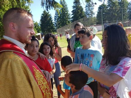 """Deti v letnom tábore navštívil """"Ježiš"""""""