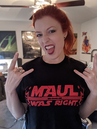 Maul Was Right Unisex t-shirt