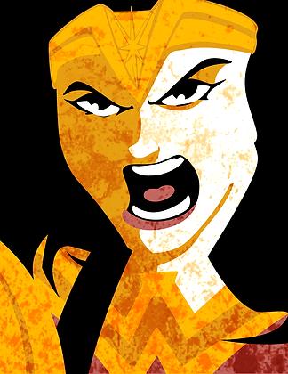 Wonder Woman Print (signed)