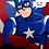 Thumbnail: Judgmental Captain America Print (signed)