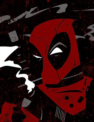 Deadpool Print (signed)