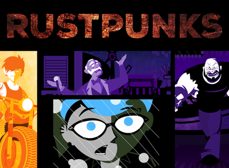 Check out Rustpunks, my halfway start at a new project