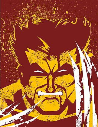 Wolverine Print (signed)