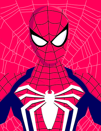 PS Spidey Print (signed)
