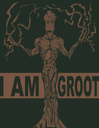 Groot Print (signed)