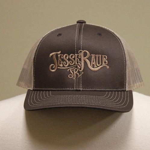 Brown JRJ Mesh Hat