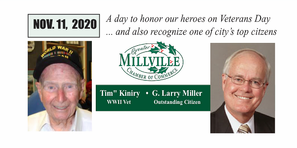 November 11, 2020: A Special Veterans Day Luncheon